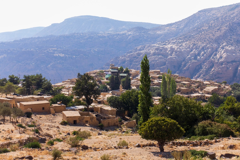 Pueblo de Dana, Jordania.