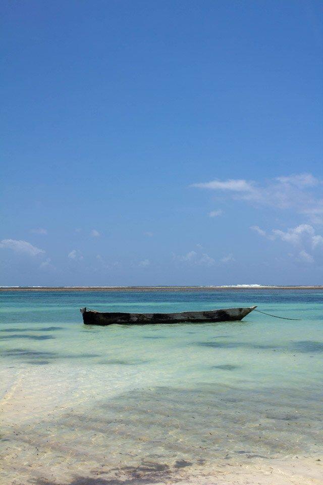 Playa de Diani, Kenia.