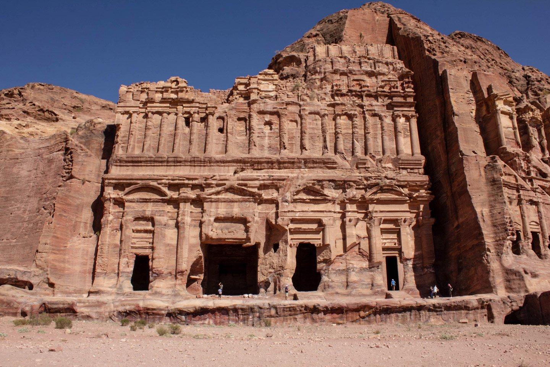 Fachadas Tumbas de Reyes, Petra.