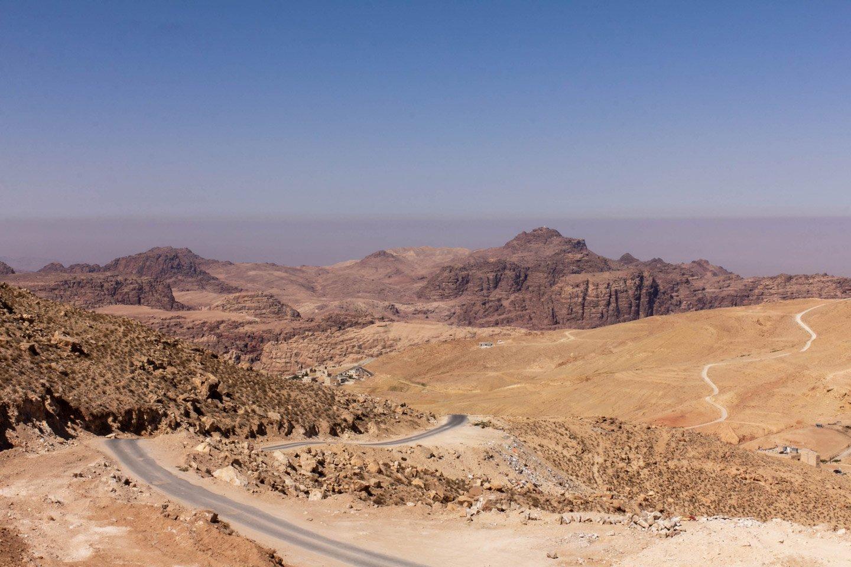 Rumbo a Petra, Jordania.